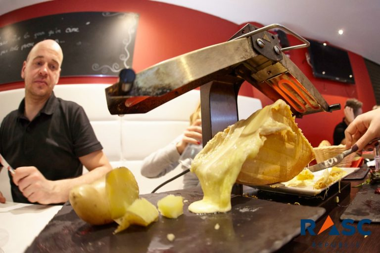 Kolacja Raclette